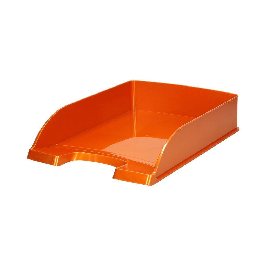 Półka na dokumenty A4 pomarańczowa Wow Leitz
