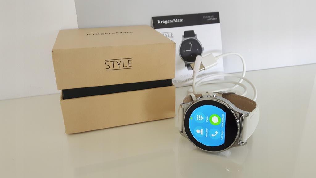 Smartwatch Kruger&Matz Style biały