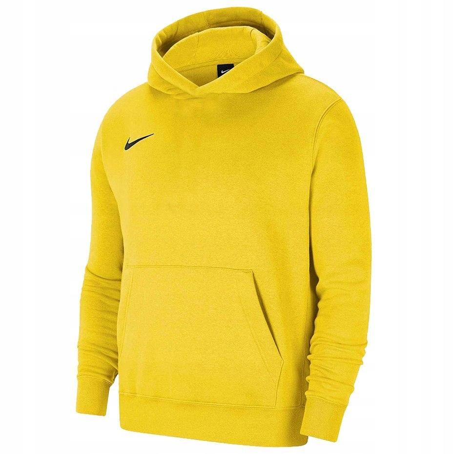 Bluza dla dzieci z kapturem Nike Hoodie żółta M