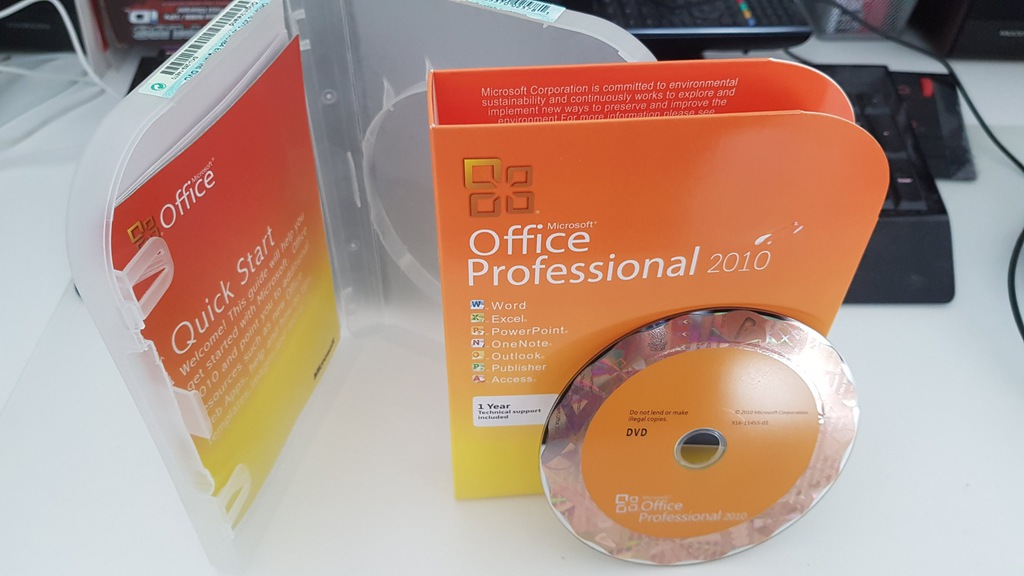 BOX Office Professional 2010 US Word Excel Outlook
