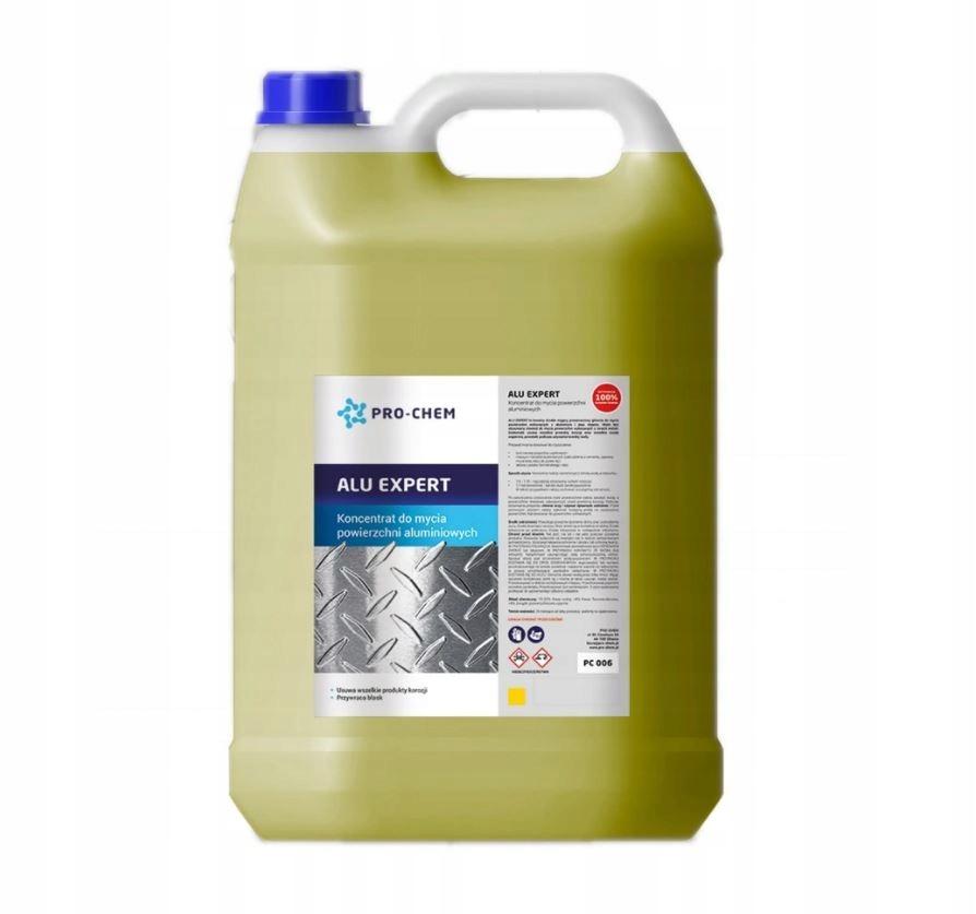 ALU EXPERT Preparat czyszczenie aluminium 60L