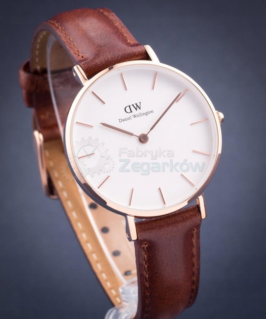 Zegarek DANIEL WELLINGTON 28mm biały złoto