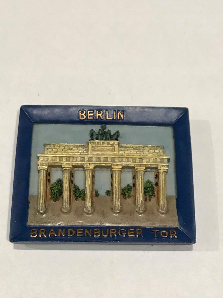Magnes lodówkę magnez Niemcy Berlin Brama Germany