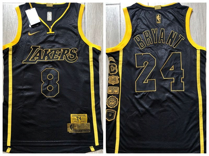 8 i 24 koszulki emerytów Nike Kobe