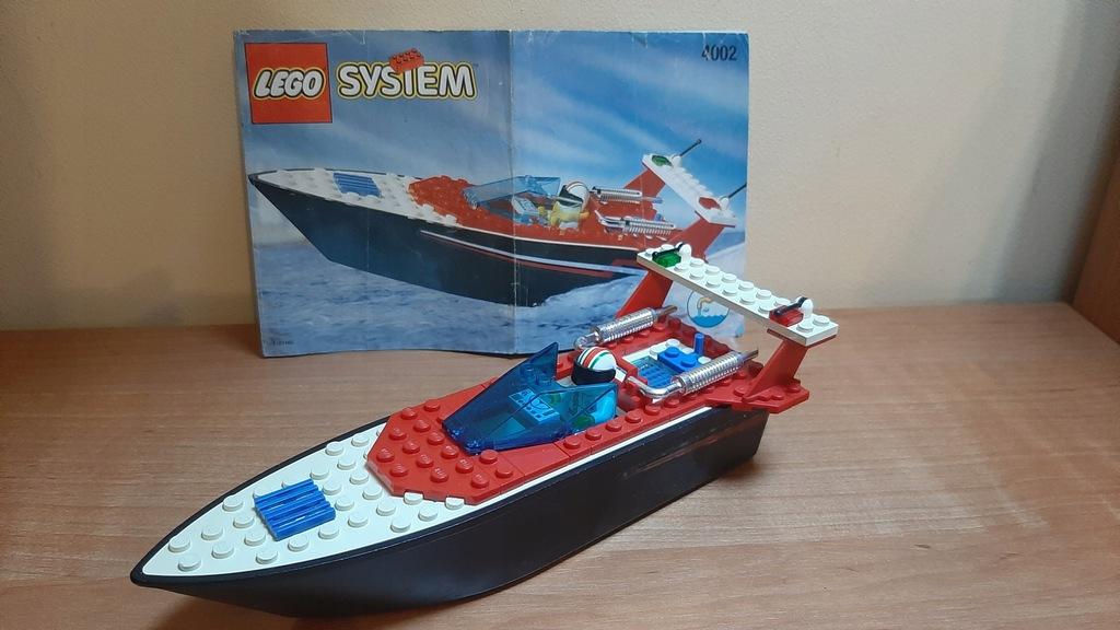 TYLKOUNIEGO - LEGO 4002-1: Riptide Racer 1996r.