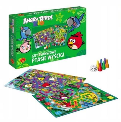 Gra 2w1 Ptasie Wyscigi Chinczyk Angry Birds Rio 7796696164 Oficjalne Archiwum Allegro