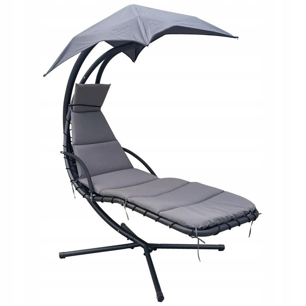 Huśtawka fotel wiszący bujany z parasolem Lizbona