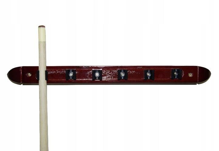 Stojak na kije bilardowe naścienny wieszak 39cm