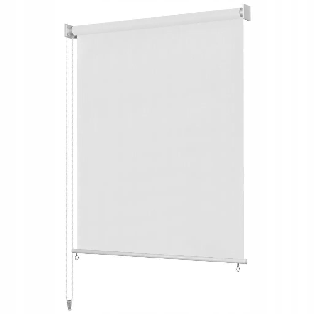 Roleta Zewnętrzna 160x140 cm Biała