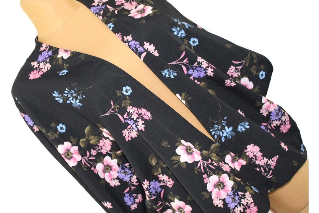 g4 NEW LOOK Damskie Bolerko Narzutka Kwiaty 40 L