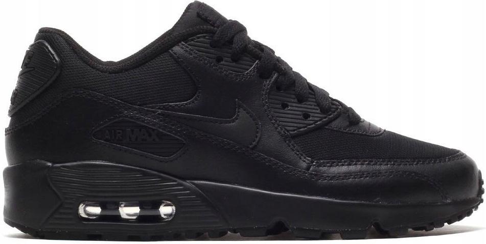 Nike Air Max 90 Mesh GS 833418 001 czarny