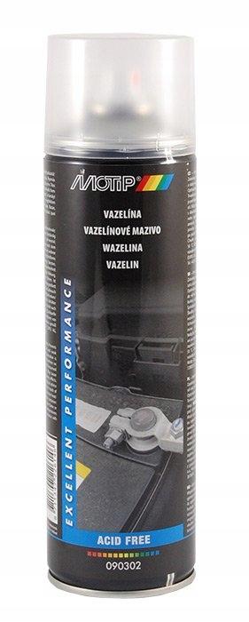 Olej wazelinowy w sprayu 500ml MOTIP 090302