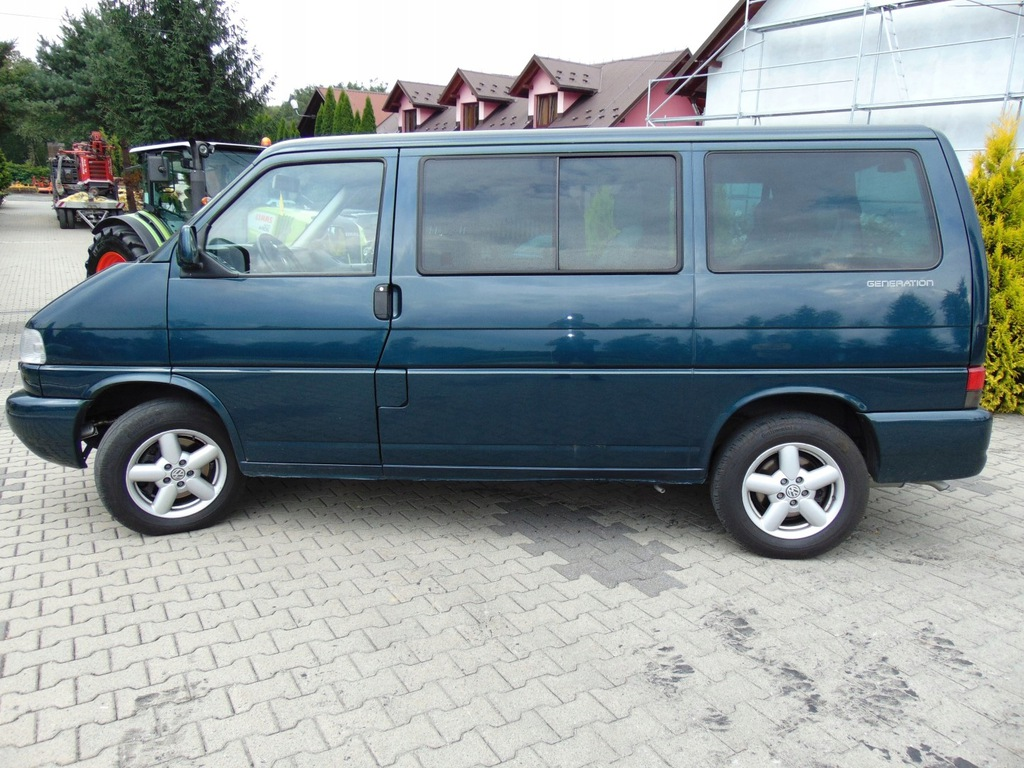 Vw T4 Multivan Generation 2002r 2 5 Tdi 150km 8375273471 Oficjalne Archiwum Allegro