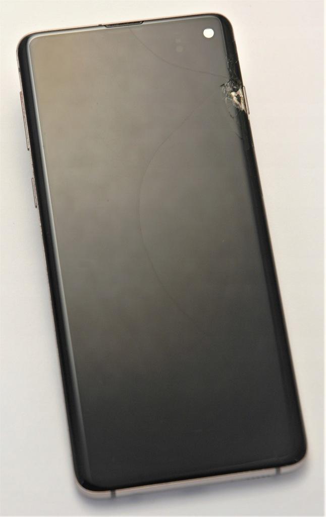 Wyświetlacz Samsung Galaxy S10 / G973 Uszkodzony