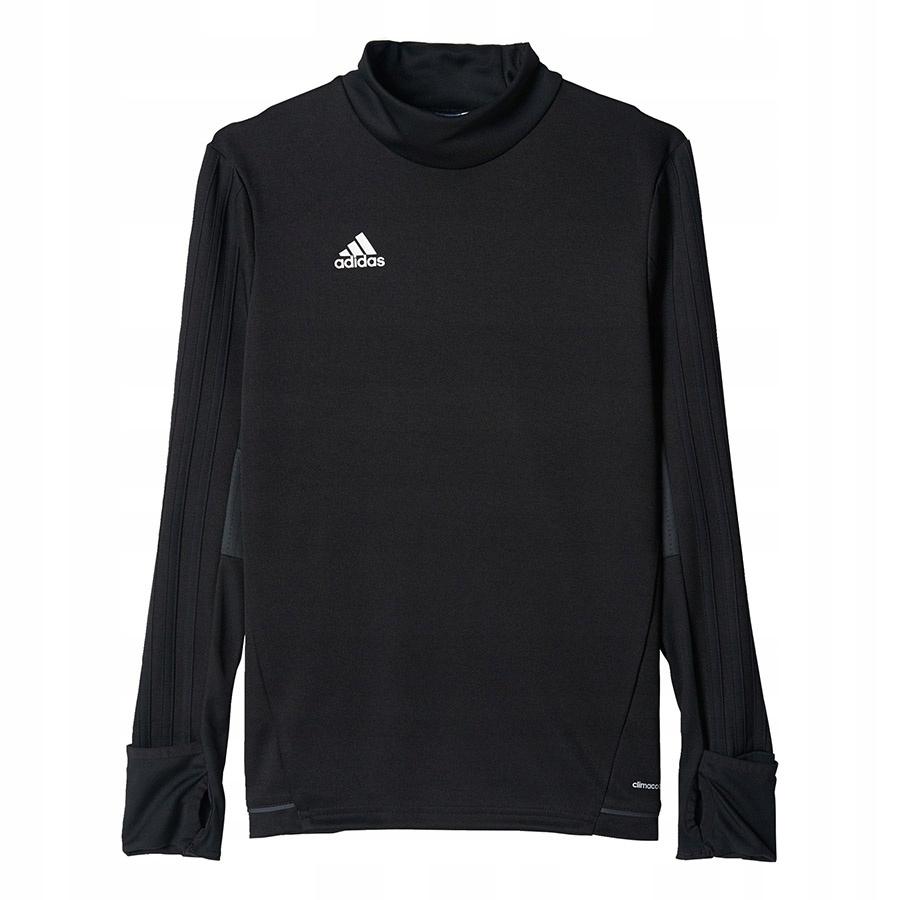 Bluza adidas Tiro 17 TRG TOP BK0293 czarny 140 cm!