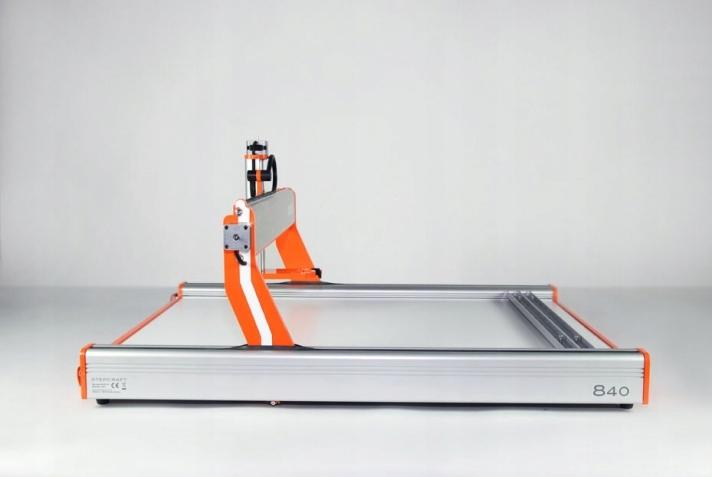 Kompletny ploter Stepcraft 840 - złożony