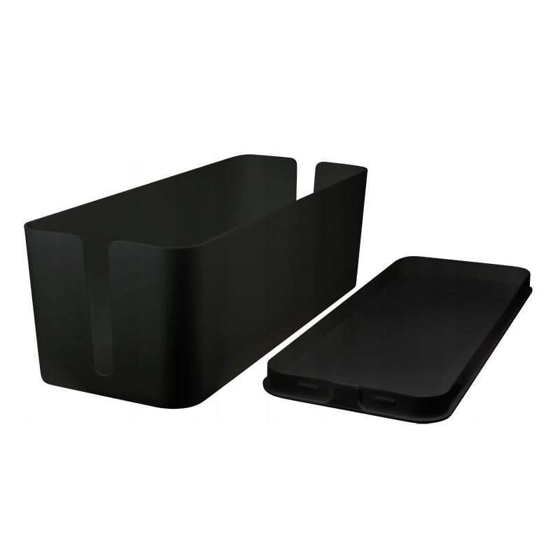 Organizer kabli Cable Box, czarny
