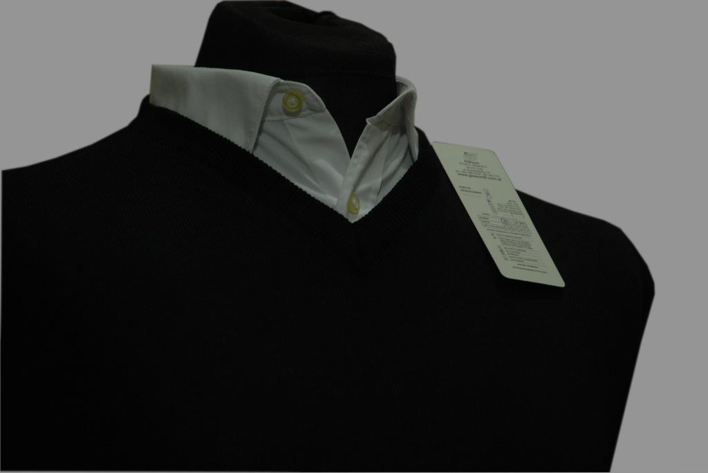 Bezrękawnik męski czarny XL cotton produkt polski