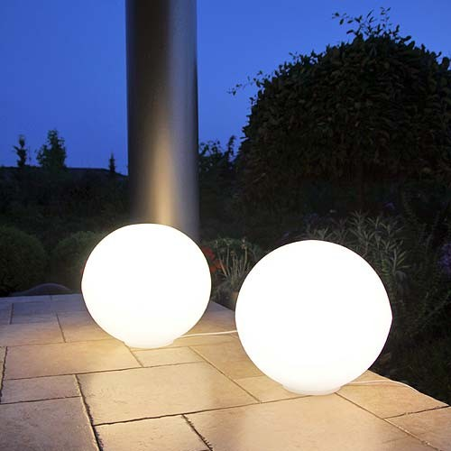 Lunares LAMPY OGRODOWE KULE 40cm Luna Ball