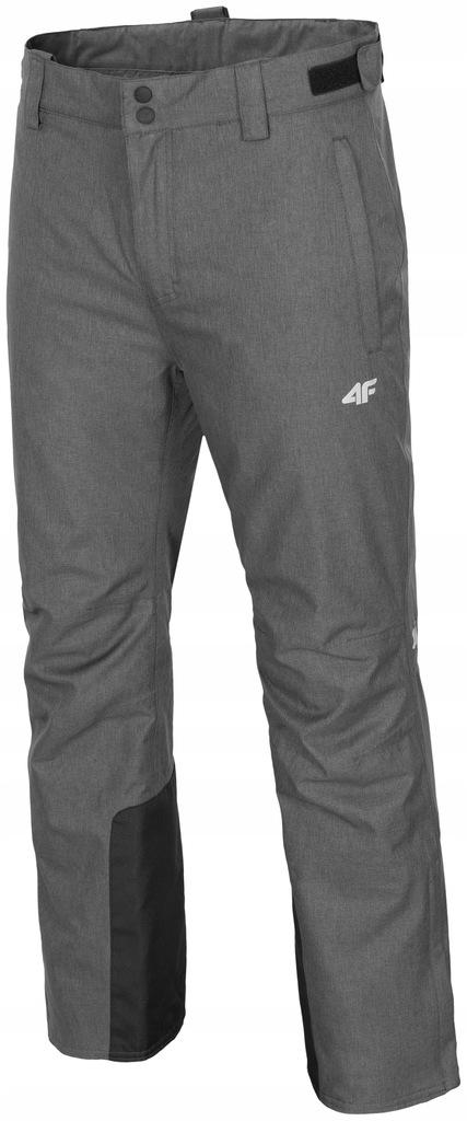 4F Spodnie narciarskie męskie Z18 SPMN001 szary S