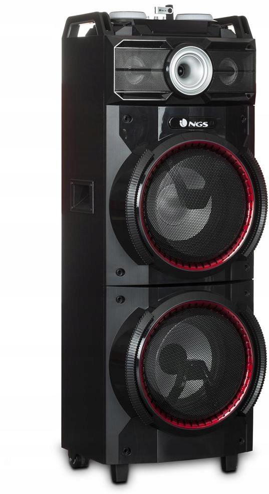 Głośnik DJ NGS Wild Techno Bluetooth USB LED 500W