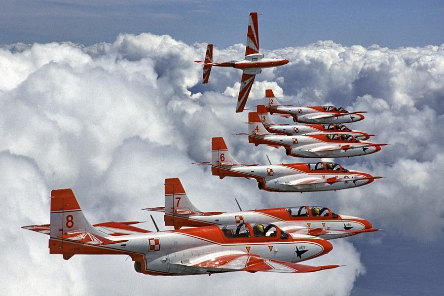 Siły Powietrzne - poznaj Biało-Czerwone Iskry