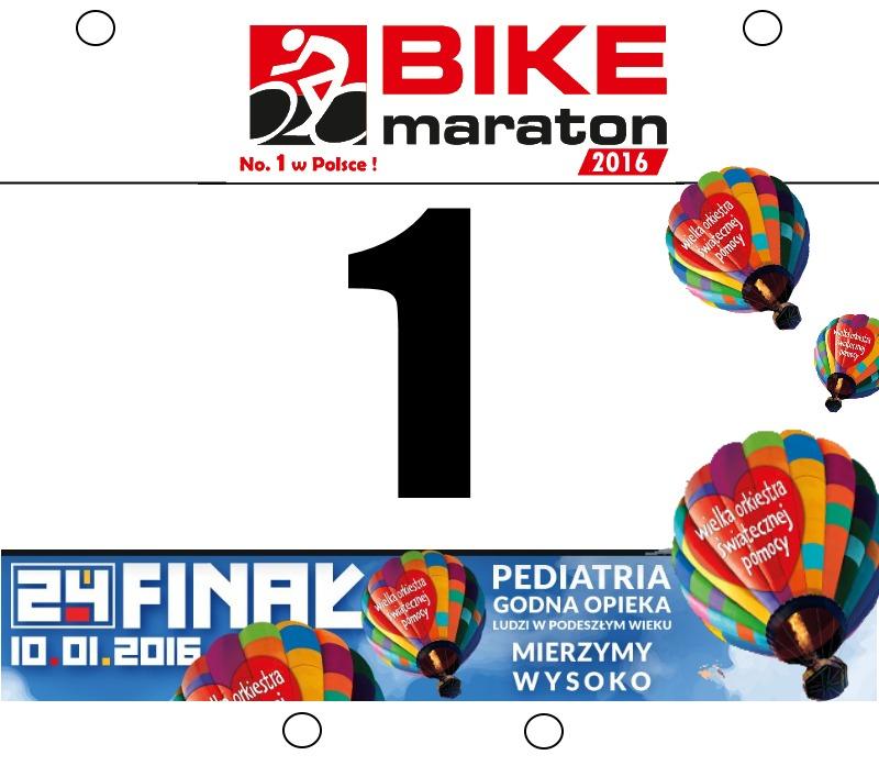 Bike Maraton 2016 - 1 nr startowy