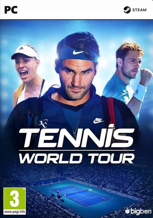 Tennis World Tour PL PC (KLUCZ STEAM)