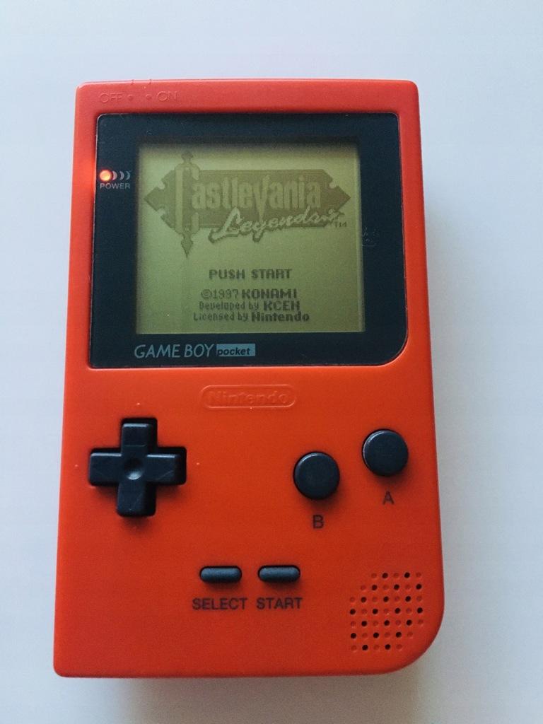 Nintendo Gameboy Pocket Red