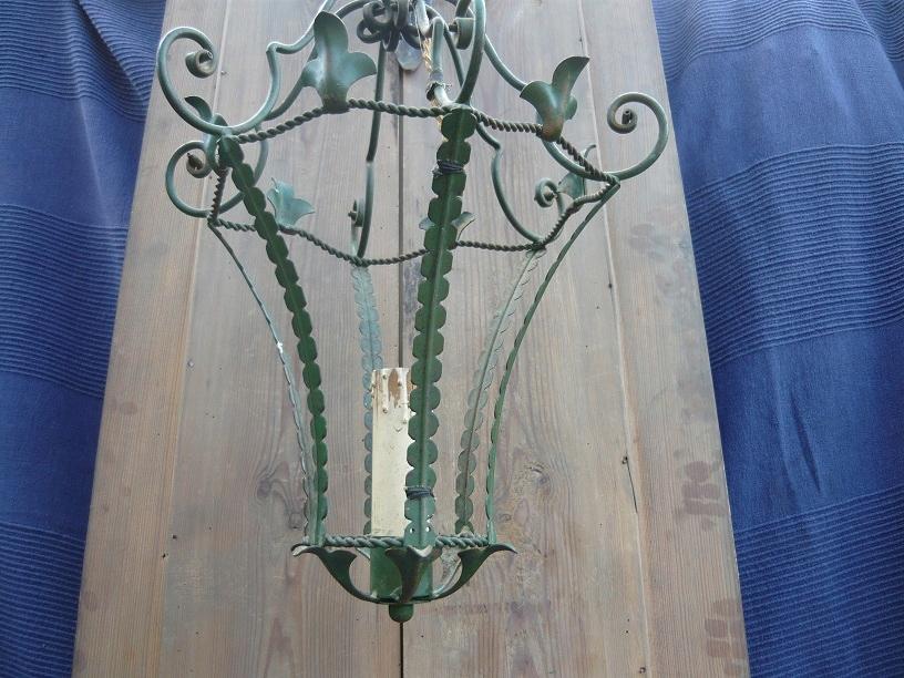 Stara lampa wisząca pod wiatę. Czytaj opis