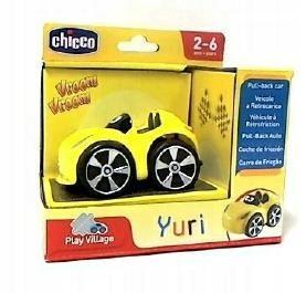 CHICCO autko mini turbo touch yuri żółty