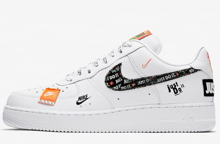 Nowe Buty Nike Air Force 1 '07 Just Do It roz eur 44