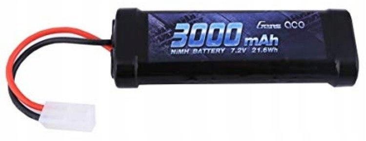 Akumulator Gens Ace 3000mAh 7,2V NiMH Tamiya Gens