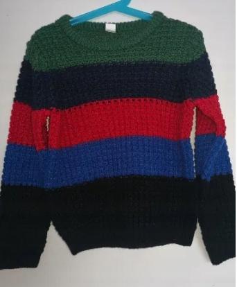 Sweterek nowy kolorowy 116