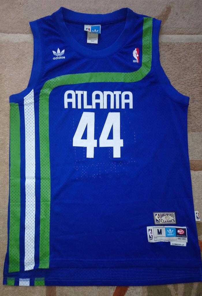 Pete Maravich ATLANTA HAWKS koszulka NBA retro