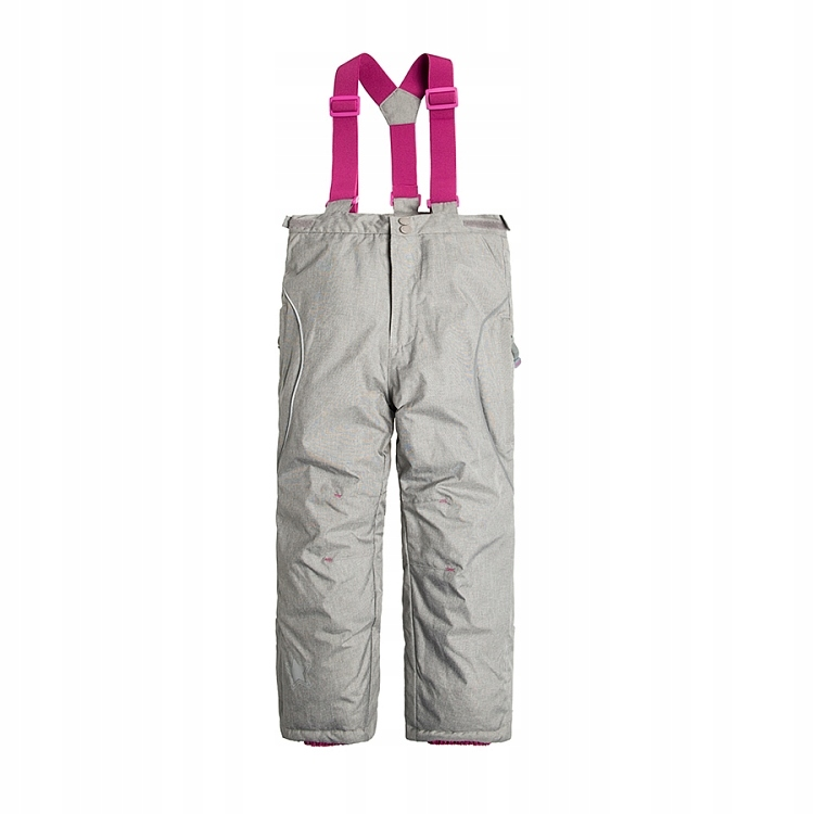 COOL CLUB świetne spodnie narciarskie 122 % szare