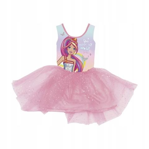 Sukienka z tiulem Barbie : Rozmiar: - 92