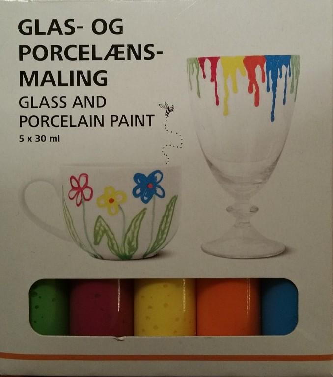 Farby do malowania na szkle i porcelanie. Nowe