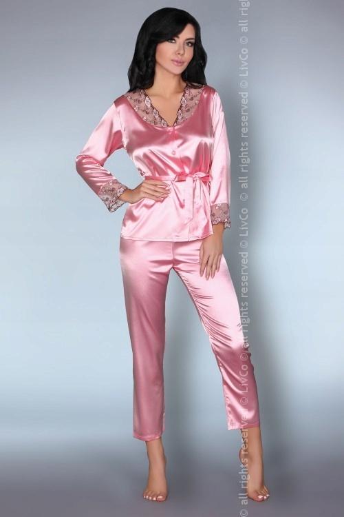 Piżama Tomana różowa