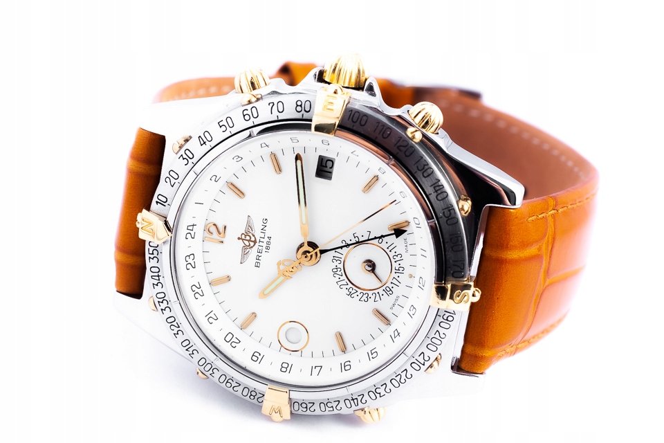 BREITLING DUOGRAPH GMT B15047 AUTOMATIC 38MM/BOX