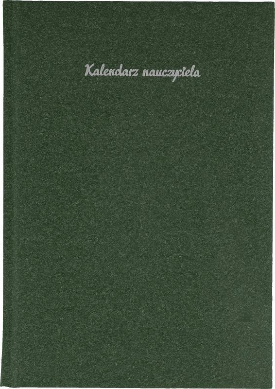 Kalendarz Nauczyciela A5 2020/2021 Natura zielony