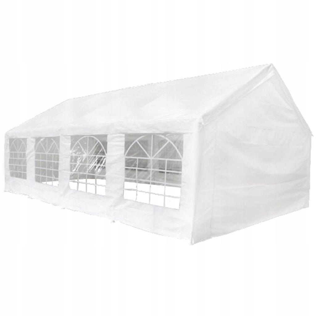 273763 vidaXL Namiot ogrodowy 8x4 m Biały 7912288068