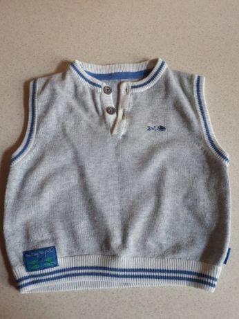 Sweterek pulower do koszuli rozm. 74 Marks & S