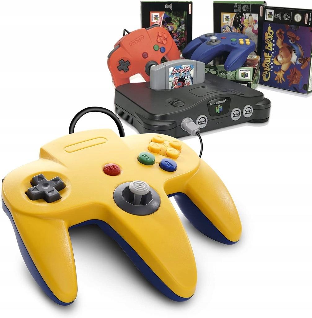 Kontroler do konsoli NINTENDO N64