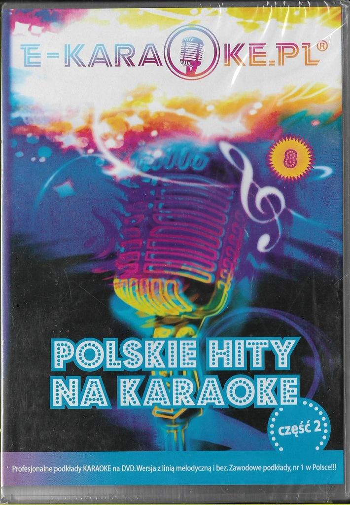 Polskie hity na karaoke cz.2 DVD NOWY folia