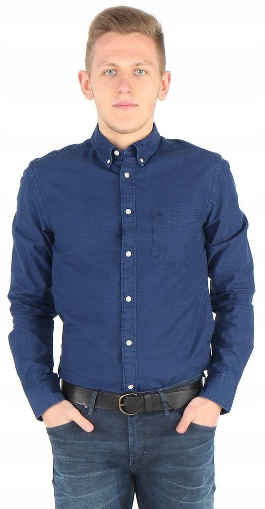 Wrangler shirt W5883S51E KOSZULA GRANAT SLIM XXL