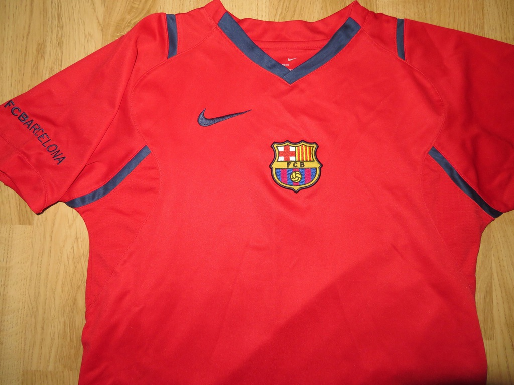 Koszulka piłkarska BARCELONA 0607 Nike oldschool