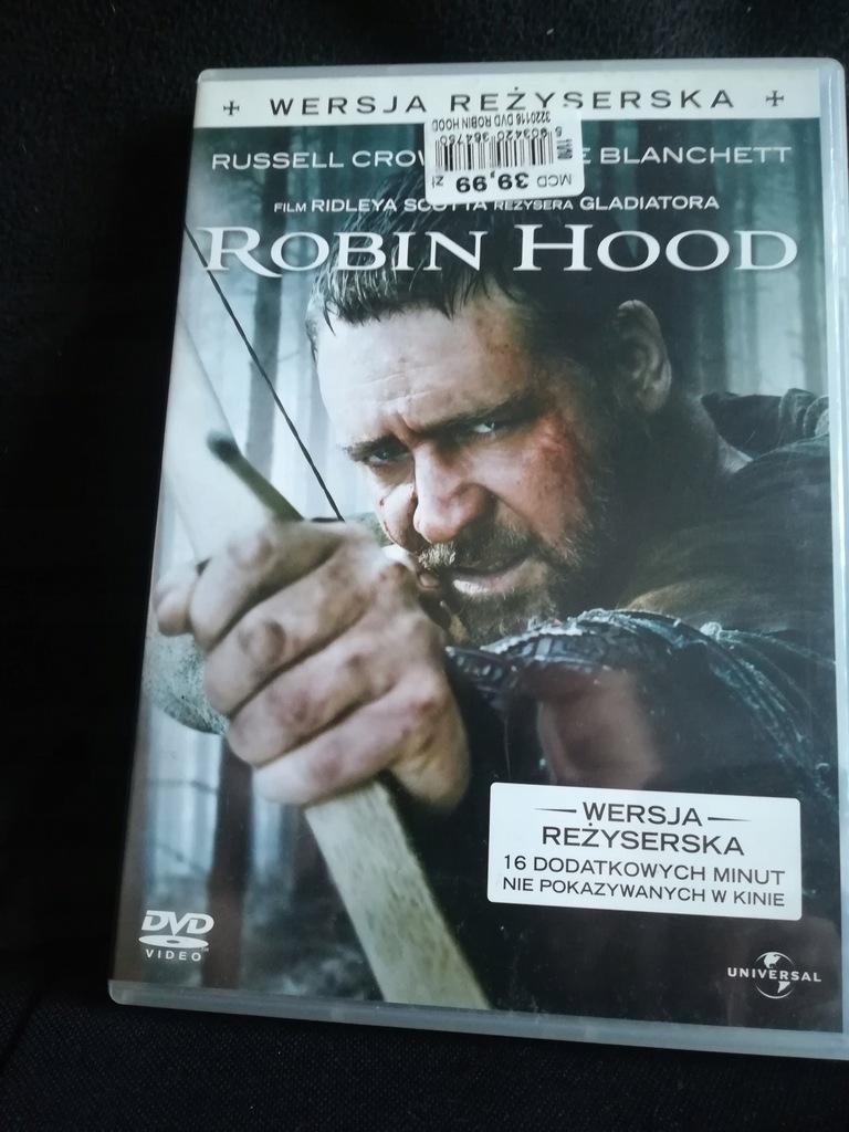 Robin Hood (Wersja Reżyserska) R.Crowe,C Blanchett