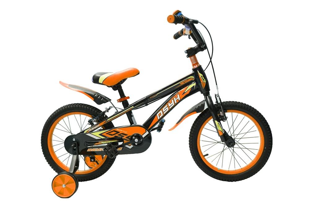 """Rower 16"""" JV- BMX POMARAŃCZOWY SPORT CHŁOPIEC"""