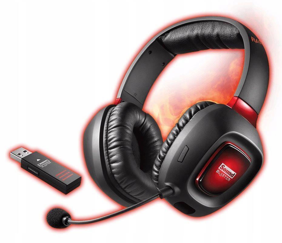 Słuchawki z mikrofonem Creative Sound Blaster